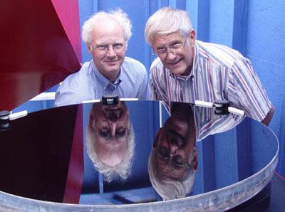 Bon Holmes (left) & John Pratte (right) photo by Mike Lockwood