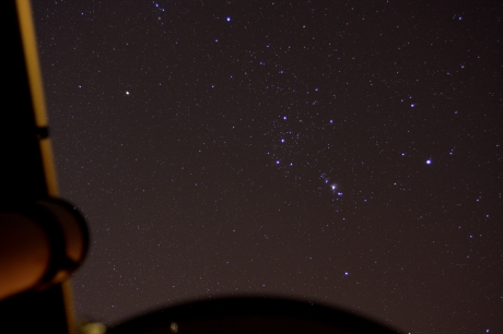 Orion from the EIU Obsevatory