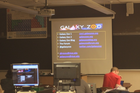 Teachers Learning about Galaxy Zoo