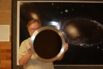 "Solar filter for the 16"" telescope"