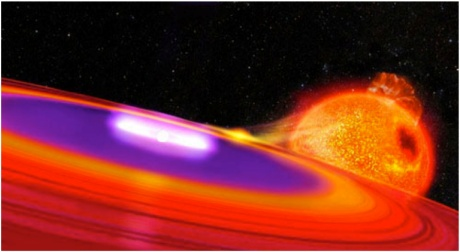 Vampire mechanism for Type Ia supernova